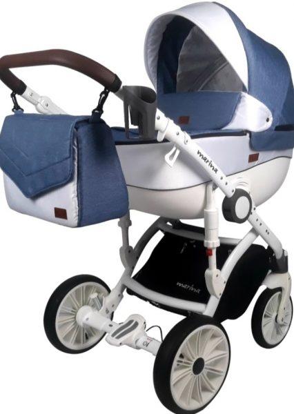 """Wózek dziecięcy """"marina"""" jeans 2w1/3w1"""
