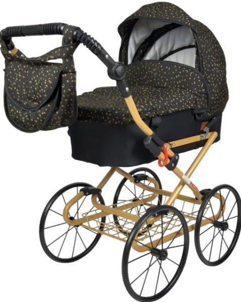 "Wózek lalkowy ""ania"" żakard retro"